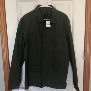 NWT JCrew jacket - army green size Large